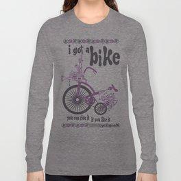 Syd's Space Bike Long Sleeve T-shirt