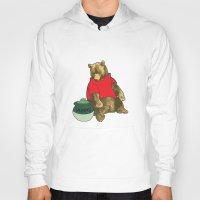 pooh Hoodies featuring Pooh! by Pieterjan Arends