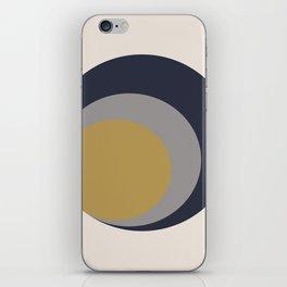 Inverted Circles iPhone Skin