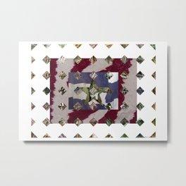 Flannel 01 Metal Print