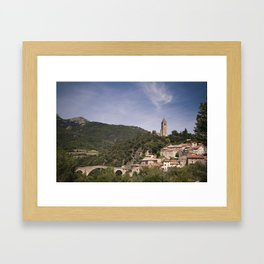 Olargues France Framed Art Print