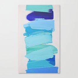 Ocean Blues No. 2 Canvas Print