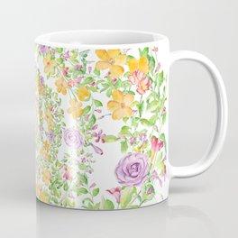 Floral Hypnosis Coffee Mug