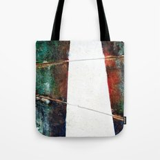 Silent Pathway Tote Bag