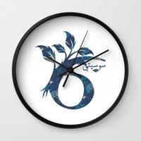 arabic Wall Clocks featuring S6 Arabic by Sumayyah Al Suwaidi