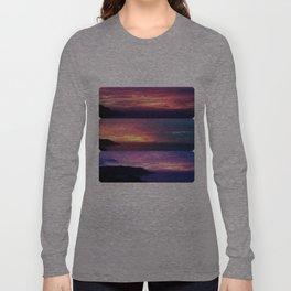 A Seacliff Sunset Long Sleeve T-shirt