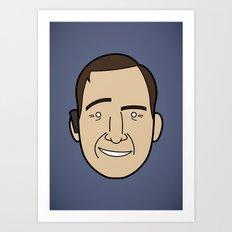 Faces of Breaking Bad: Saul Goodman Art Print