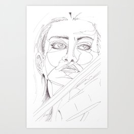 feeling the passion Art Print