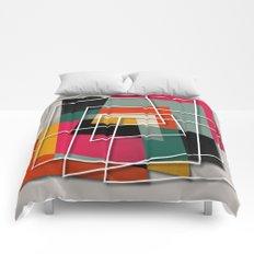 Fill & Stroke III Comforters