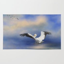 Take Off by the Sea Rug