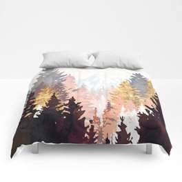 Wine Forest Comforters