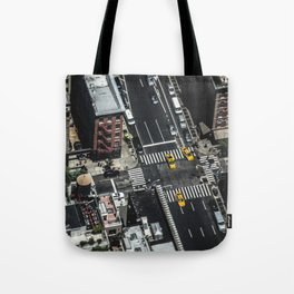 Little Yellow Cabs Tote Bag