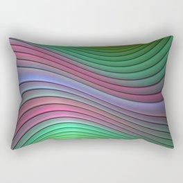 Curvitude Rectangular Pillow