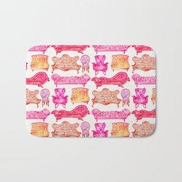 Victorian Lounge – Pink Palette Bath Mat