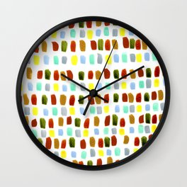South West France Countryside Wall Clock