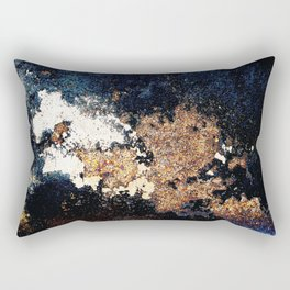Alien Continents ruined wall texture grunge Rectangular Pillow