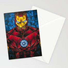 CUBIST IRONMAN Stationery Cards