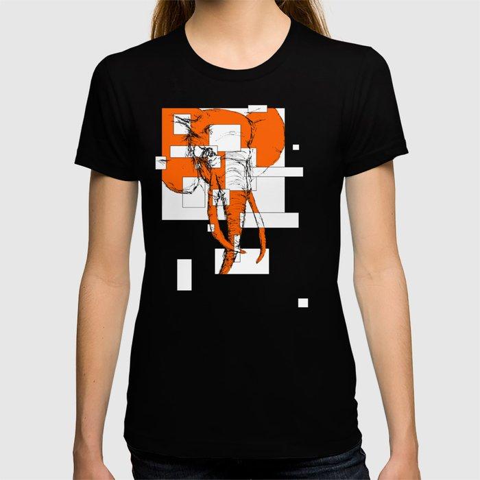 Orange is the New Elephant T-shirt