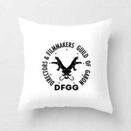 DFGG Throw Pillow