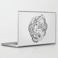thailand Laptop & iPad Skins featuring Thailand Elephant by Nuryanti Eryz