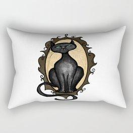 Familiar in Frame Rectangular Pillow