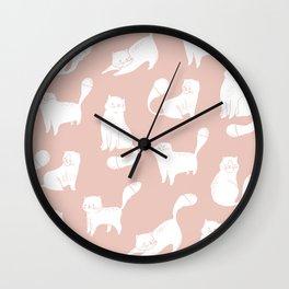 Little cats Wall Clock