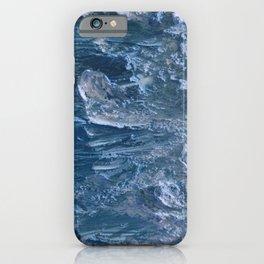 Blue Ocean Water Painting Sea iPhone Case