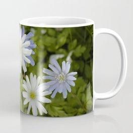 Purple and White Flowers Coffee Mug