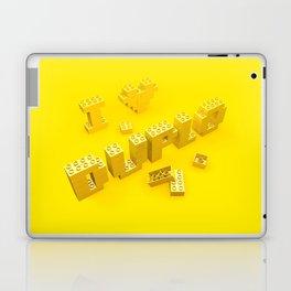 I Love Duplo Laptop & iPad Skin
