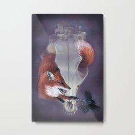 Foxcraft Metal Print