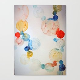 Delicate Worlds 2 Canvas Print