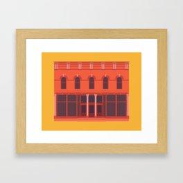 Jake's Pizza- Green Bay, WI Framed Art Print