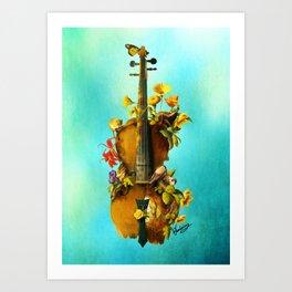 Undying Symphony Art Print