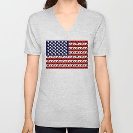 Dog Flag Unisex V-Neck