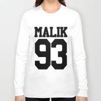 zayn malik Long Sleeve T-shirts featuring MALIK by Aline Monteiro