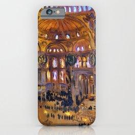 John Singer Sargent - The Hagia Sophia - Digital Remastered Edition iPhone Case