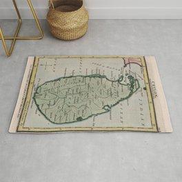 Vintage Map of Sri Lanka (1801) Rug