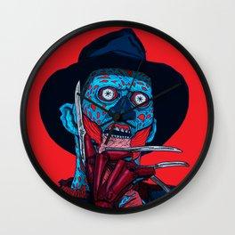 CONSUME: FREDDY KRUEGER Wall Clock