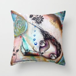 Unexpected Throw Pillow