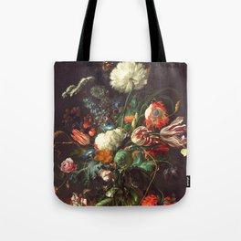 Vase of Flowers II - de Heem Tote Bag