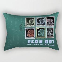 Fear Not, We Come As Friends Rectangular Pillow