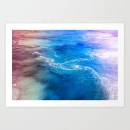 sea sea Art Print