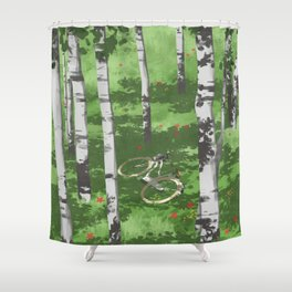 Gone for a ride BRB - 02 Shower Curtain