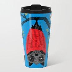Bats in Blankets Metal Travel Mug