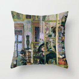 The Clarac Room - Digital Remastered Edition Throw Pillow