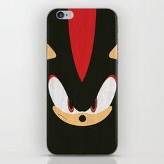 Shadow the Hedgehog iPhone & iPod Skin
