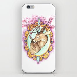 Trophy: Abstract Mounted Deer iPhone Skin
