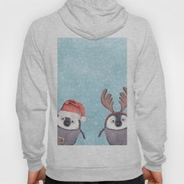 CHRISTMAS PENGUINS Hoody