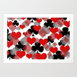 Abstract Cards Design Art Print