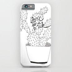 cactus in black Slim Case iPhone 6s